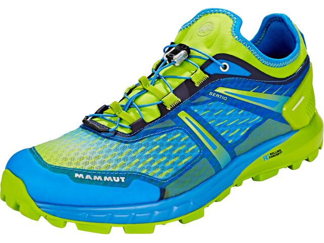 Mammut Sertig Low Zapatillas running Hombre, imperial-sprout
